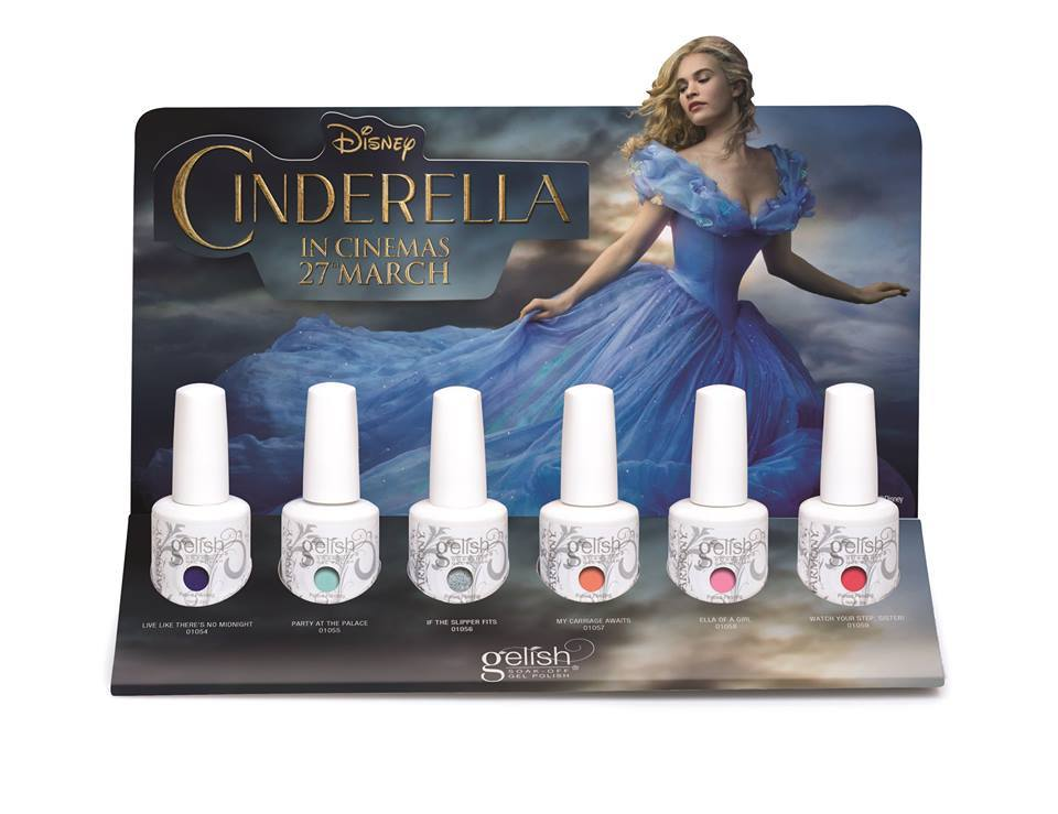 Gelish Cinderella Spring Collection