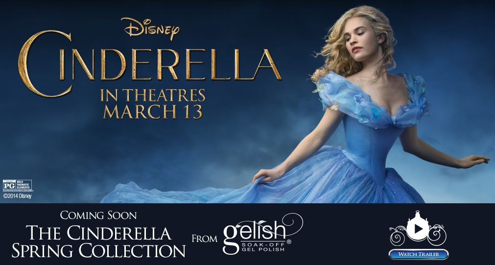 Disney Cinderella Movie Trailer